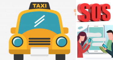 SOS Feature in Taxi Software